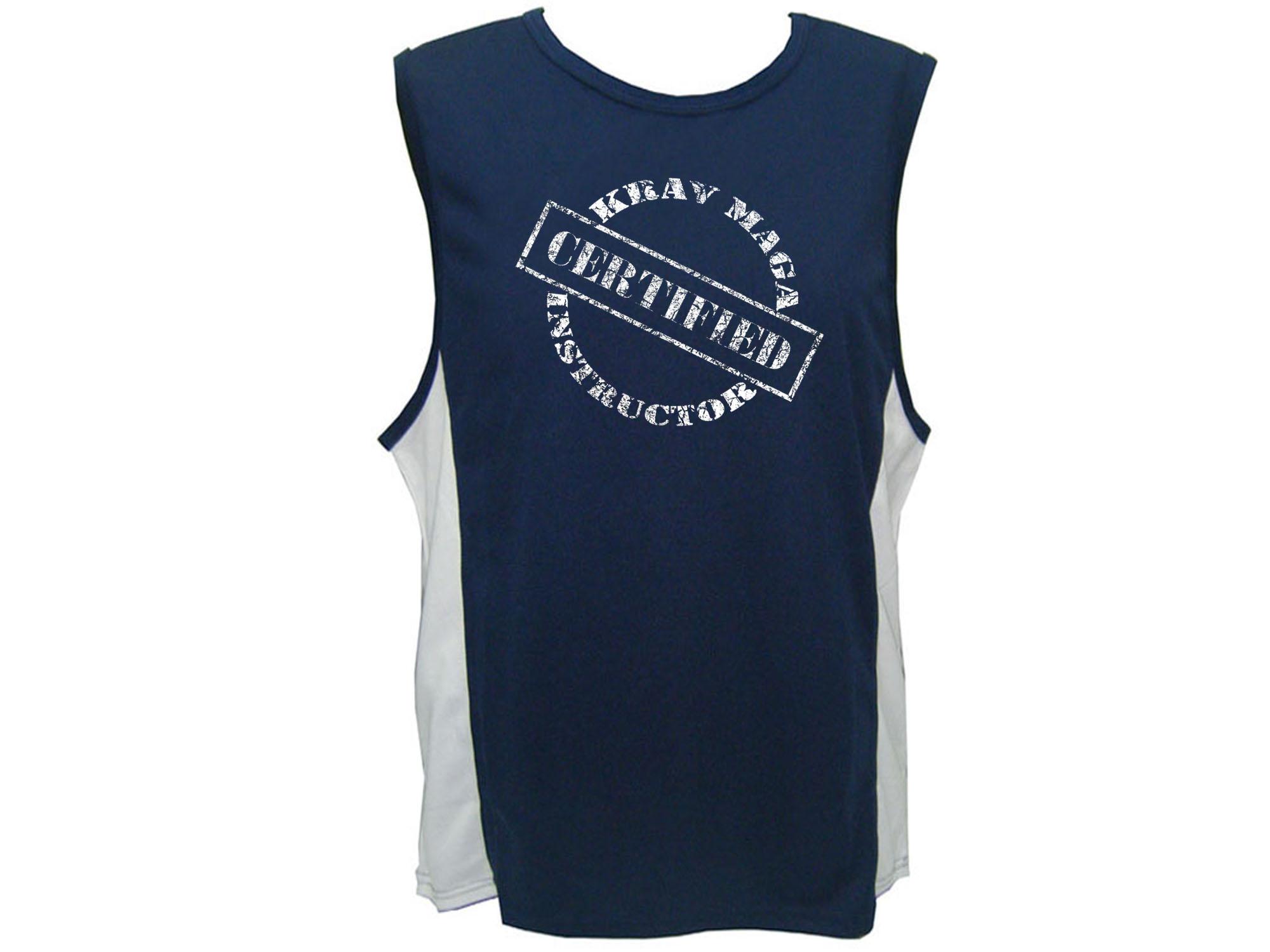 Krav maga martial arts israel1shop widest israel shop krav maga instructor certified sweat proof fabric workout tank top buycottarizona