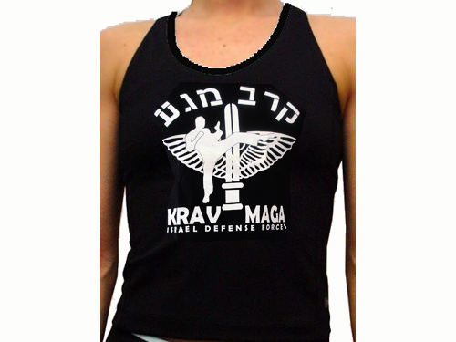 t shirt krav israel Wtanktopkravmaga1